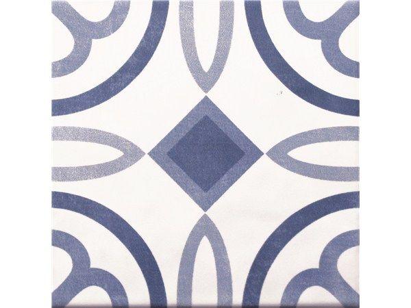 Decoratieve 14,7x14,7 cm tegel, verkrijgbaar in meerdere motieven. Ook in grijs/zwart. Voor een prachtige patroonvloer (13). Tegelhuys