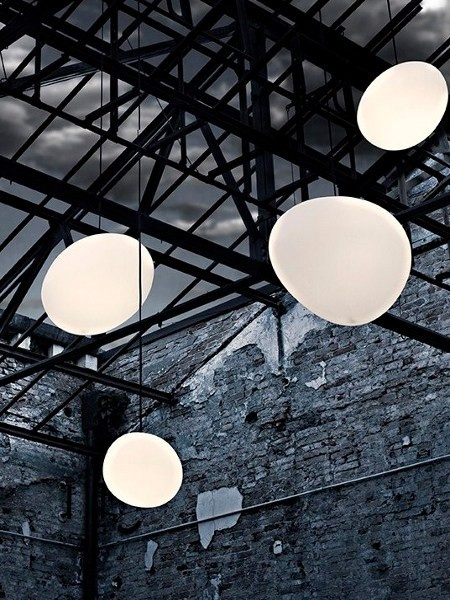 Exterior hanging pendants by Foscarini