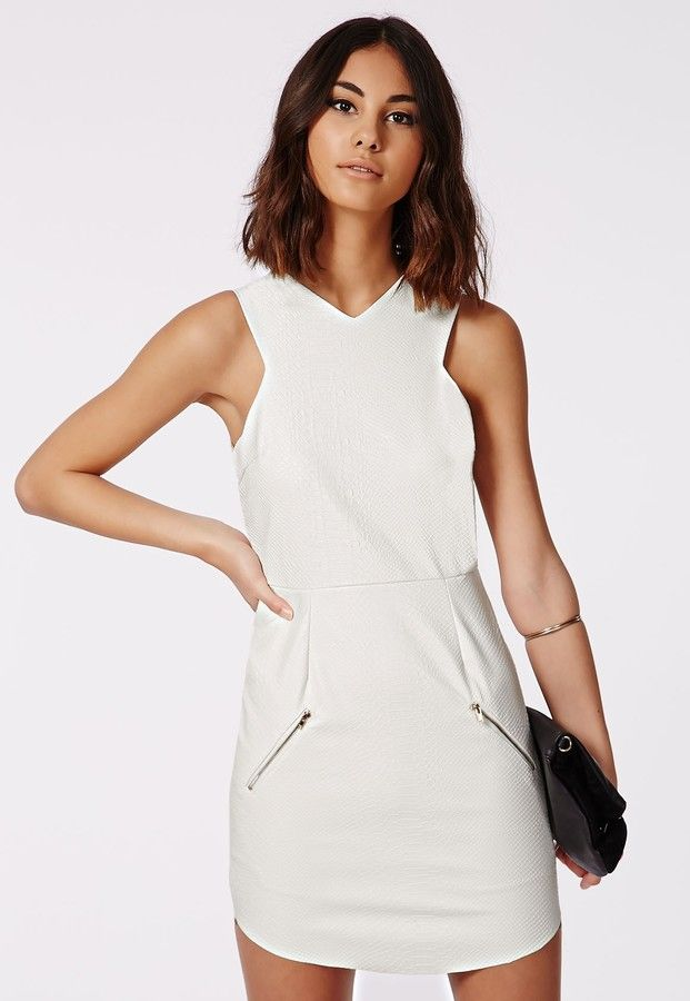 White Shift Dress by Missguided. Buy for $45 from Missguided