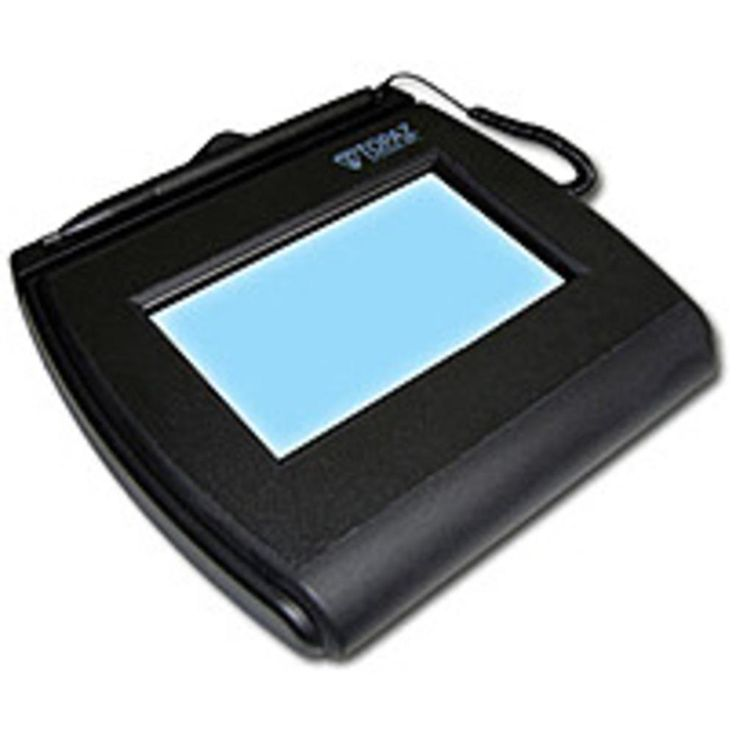 NOB Topaz Signature Gem T-LBK755-BHSB-R 4.0 x 3.0 inches LCD Signature Capture Pad - HID-USB