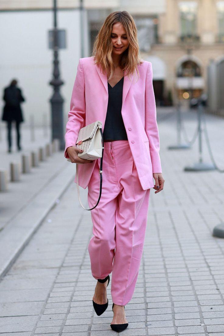 Resultado de imagen para street style pink black