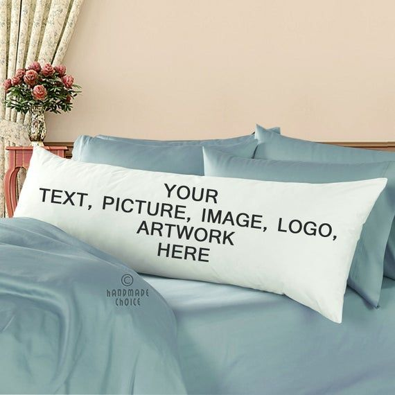 Custom 21 X 60 Zipper Body Pillowcase Cover Decorative Long