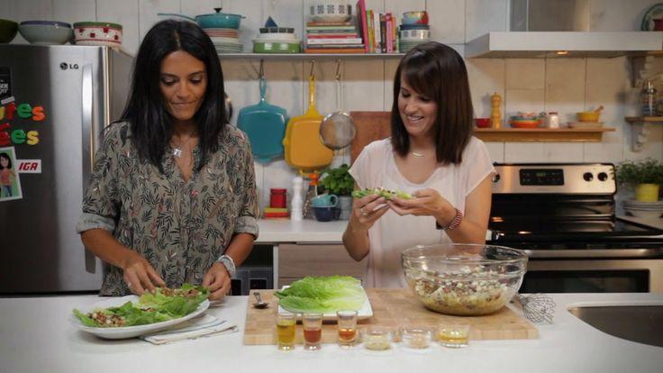 Minutes futées : 3. Salade rapide pommes en lentilles