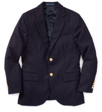 Ralph Lauren Wool Brass-Button Sport Coat Navy 18