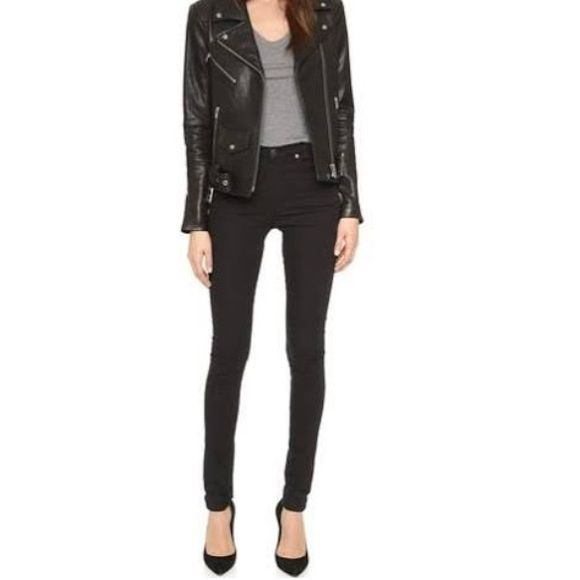 Cheap Monday skinny jeans- black NWOT, never worn. Cheap Monday Jeans Skinny