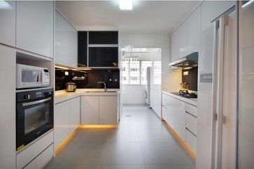 Hdb Hougang Singapore Contemporary Kitchen Kitchen Design Pinterest Other Singapore And