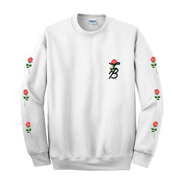 Tessa Brooks Rose Crewneck Sweater