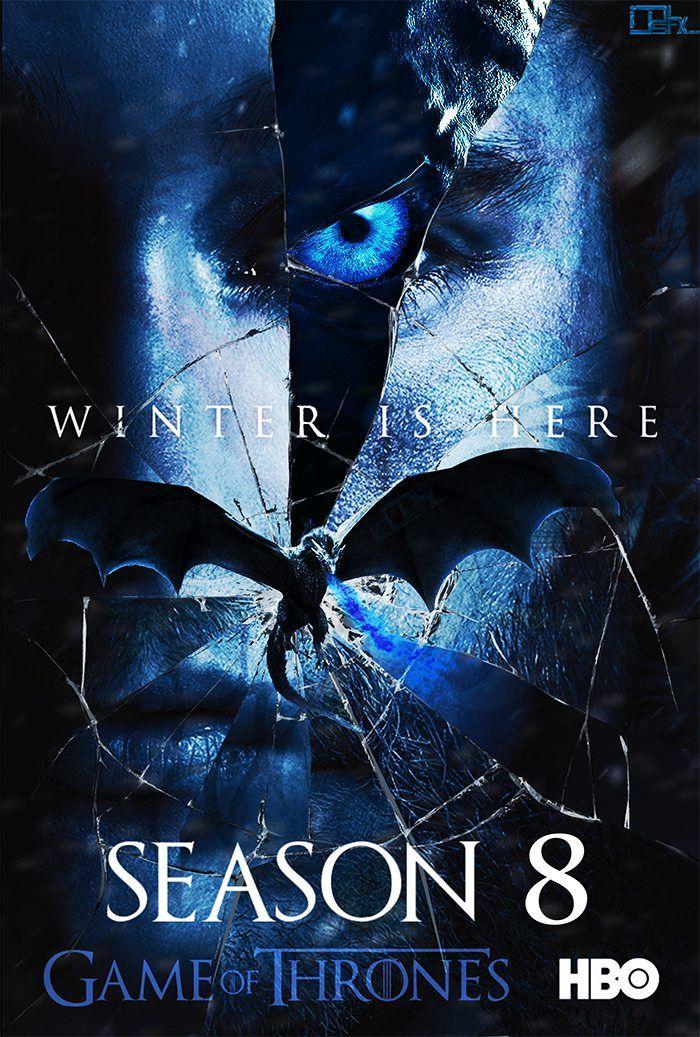 Game Of Thrones Saison 8 Ep 6 Vf : thrones, saison, Winter, Thrones, Poster, Season, Https://amzn.to/2Pc8kM7, Thrones,, Série, Trône