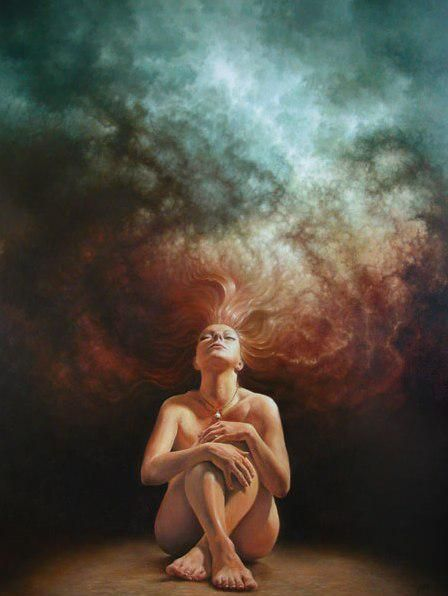 Surreal Depictions of Human Nature Versus the Universe By Tomasz Alen Kopera #Art #ContemporaryArt #Surrealism