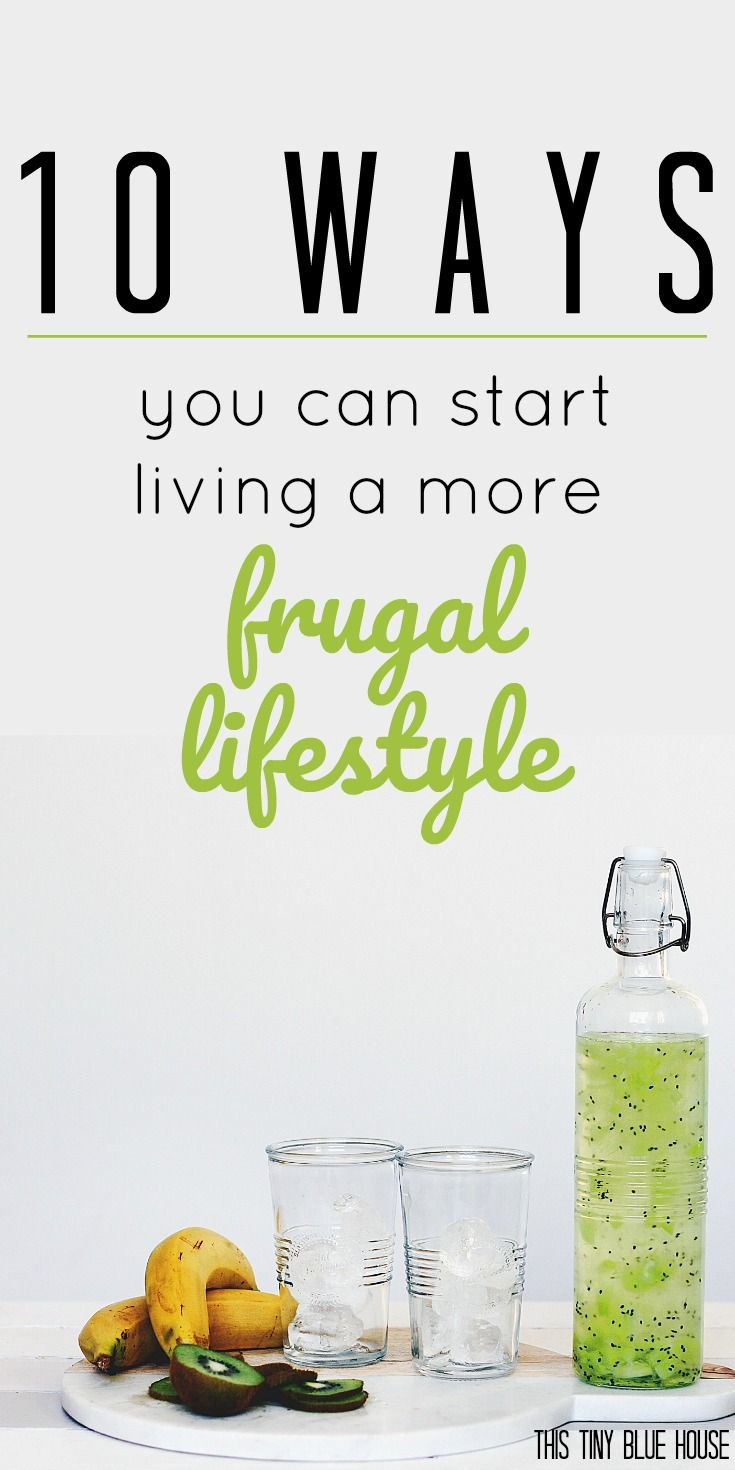 10 Ways you can start living more Frugally right now. Frugal | Frugal Living | Money Saving Tips | Personal Finance | Tips to save money | Lifestyle changes to save money | Debt reduction
