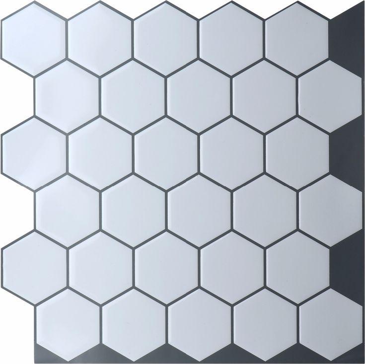 Vinyl Tile Backsplash, Bathroom Tile Stickers And
