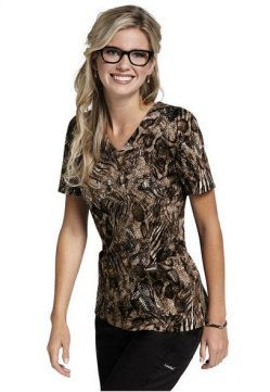 Can I just wear scrubs to work every day??? Jockey Wild scoop neck scrub top. - Scrubs and Beyond #scrubs #uniforms