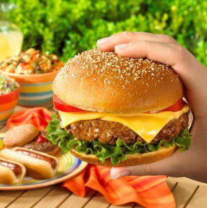 Me gusta mucho la hamburguesa y queso