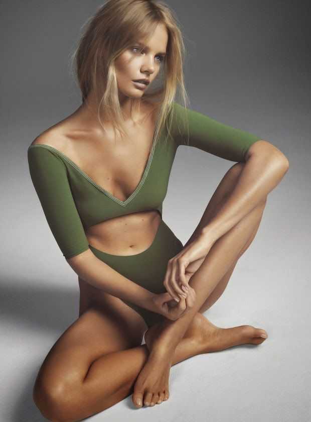 """""""Glow, Girl"""" Marloes Horst for Marie Claire UK May 2015"""