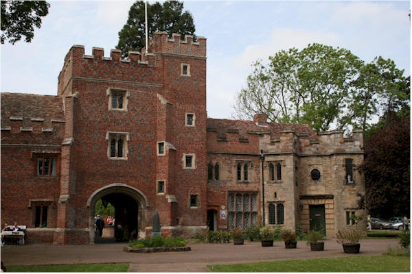 Buckden was the property of the Bishops of Lincoln& @ a early date,they had a palace.The most important visitor to Buckden Palace was Katherine of Aragon.She was sent there by Henry VIII after the annulment of their marriage.She resided in the Palace from 1533 until 1534.The people of England had a deep sympathy w/Katherine was very popular w/the villagers.This, w/the fact that she was visited by 2 Friars,made Henry determined to move her to where she could be more easily confined.