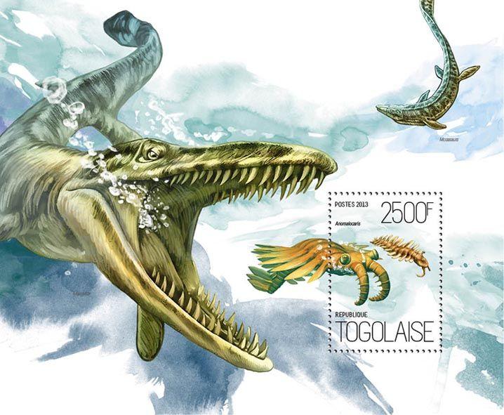 TG 13822 b – Water Dinosaurs, (Anomalocaris).