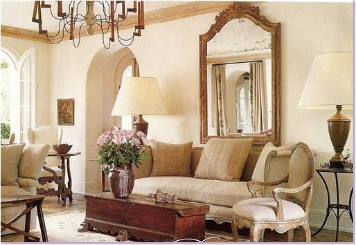 appealing french country style living room | french country music room | french country living room ...