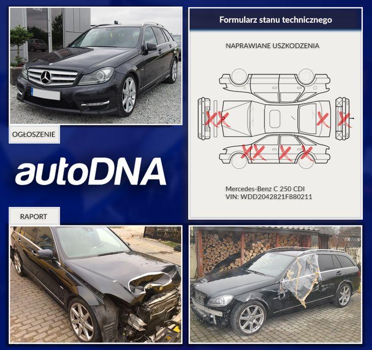 Baza #autoDNA - #UWAGA! #Mercedes-#Benz klasy C  https://www.autodna.pl/vin/WDD2042821F880211/mercedes-benz-c-250-cdi-4matic-blueefficiency-2143cm3-diesel/9627641676c8f79aa5bbd1087fc025a2e4d3cf72/autodna_vhr  http://moto.gratka.pl/tresc/mercedes-benz-klasa-c-w204-mercedes-c250-4matic-22085565.html
