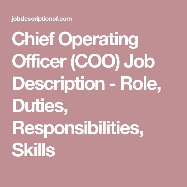 Best 25+ Chief Operating Officer Ideas On Pinterest | Leadership