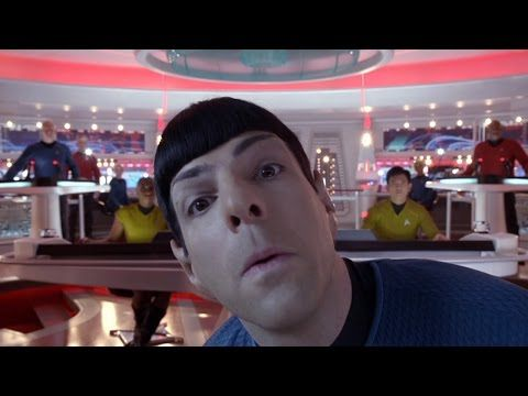 OMG Star Trek actors messing up on camera, I think they're called outtakes? Never mind that it's hilarious!!!:D