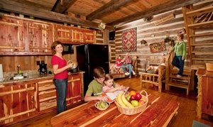 Log Cabins At Silver Dollar City S The Wilderness In