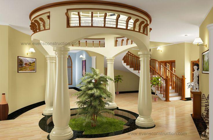 Round courtyard design - Modern Bedroom Ideas Kids