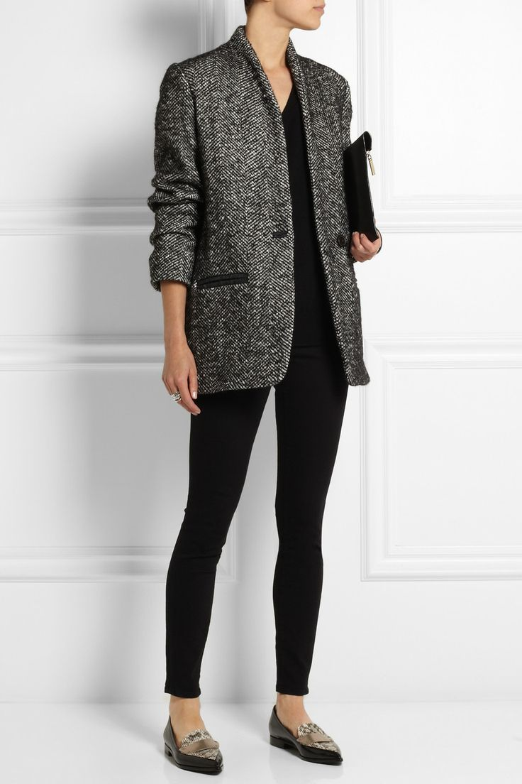 Étoile Isabel Marant | Denver tweed coat | NET-A-PORTER.COM