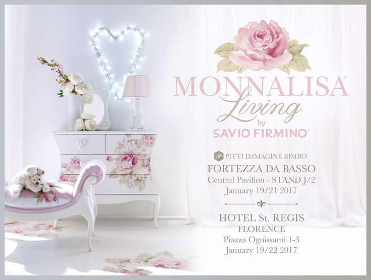 We are waiting for you at Pitti Immagine Bimbo, from January 19th to 22nd, to present its brand-new furniture collection realized in co-operation with Monnalisa: Monnalisa Living by SAVIO FIRMINO.  We will be glad to welcome you in two of the most exclusive locations in Florence: the Hotel St. Regis Florence and the Fortezza da Basso, Central Pavilion, Stand J/2   @monnalisaeu @pittimmagine #pb84 #monnalisaliving #pittibimbo #pittimmaginebimbo #living