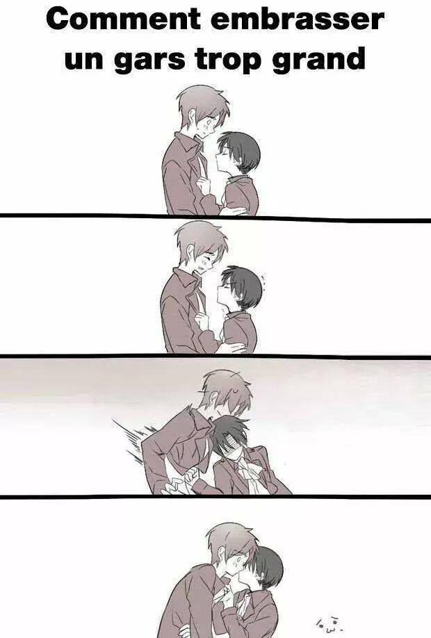 Haha trop la technique il faut que j'essaye >>> Je viens seulement de remarquer que c'est Eren et Levi ♡_♡