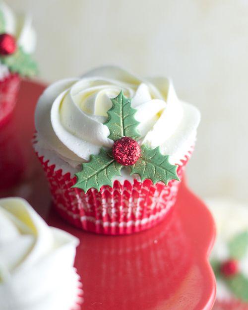 Objetivo: Cupcake Perfecto.: Merry Christmas Cupcakes (o una buena excusa para beber ginebra)