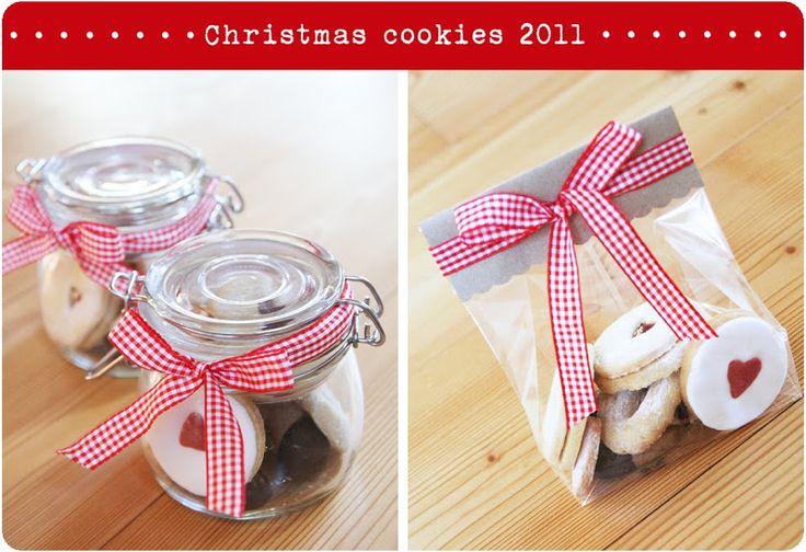 Biscotti fatti in casa. Un regalo goloso!