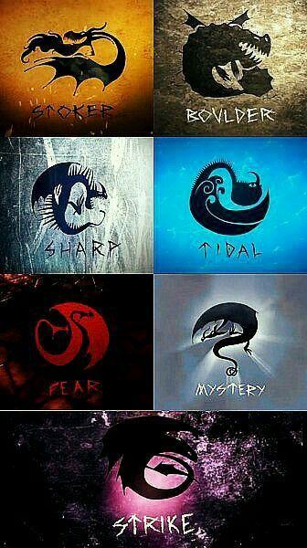 Tipos de dragones