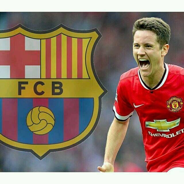 Ander Herrera estaría en los planes del Barcelona para enero #Fichajes #Futbol