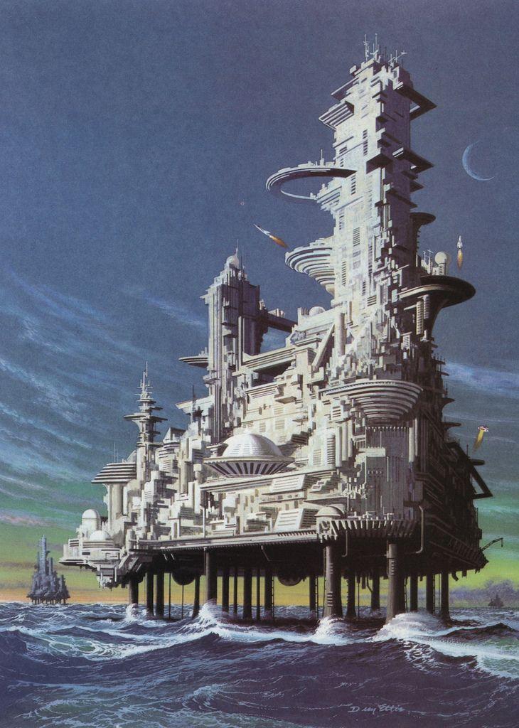 Retro Sci Fi art (unknown artist)