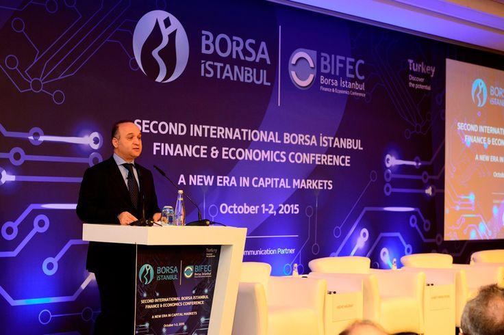2. Uluslararası Borsa İstanbul Finans ve Ekonomi Konferansı (BIFEC) bugün başladı 1