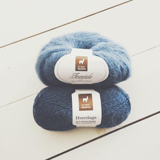 du store alpakka yarn