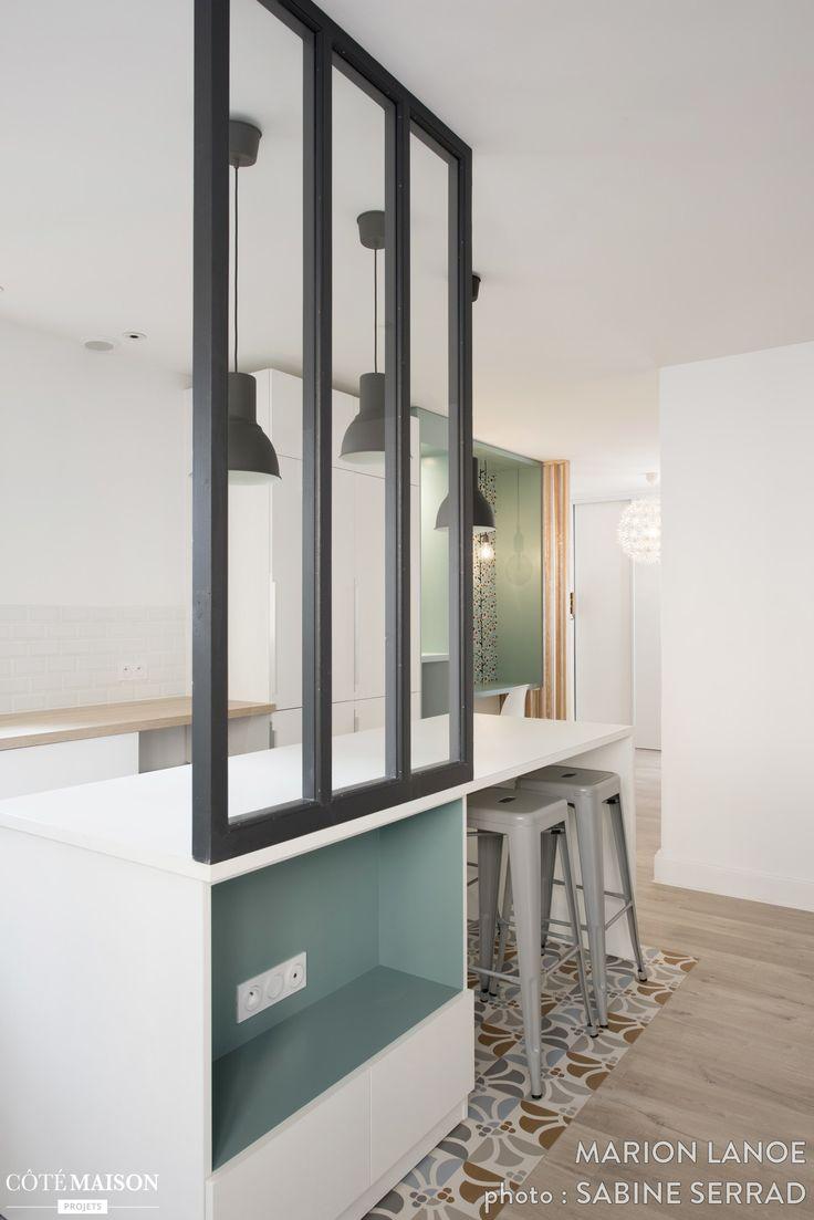 Rénovation d'un appartement à la Croix Rousse, Marion Lanoë - Côté Maison