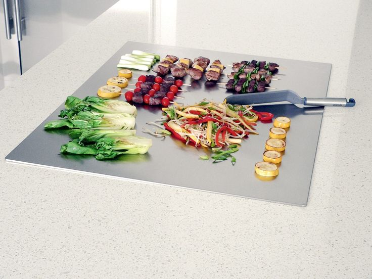 The slick look of stainless steel has a way of getting the creative cooking juices flowing.