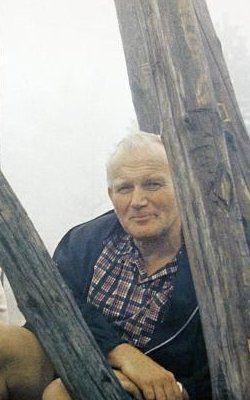 Cardinal Carol Wojtyla in 1973, Lubogoszcz Mountain near Krakow.