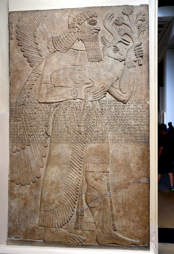 During the Neo Assyrian period 911 612 BCE Apkallus