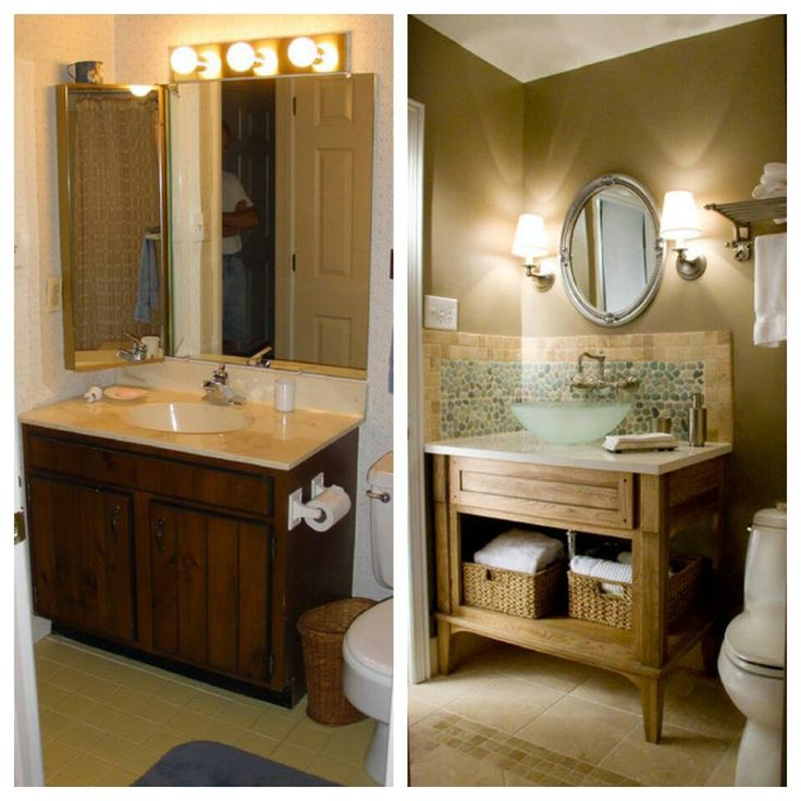 8 best guest spare bathroom ideas images on pinterest - Half bath remodel ideas ...