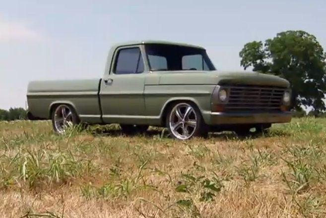 gas monkey garage fast and loud f100 trucks. Black Bedroom Furniture Sets. Home Design Ideas
