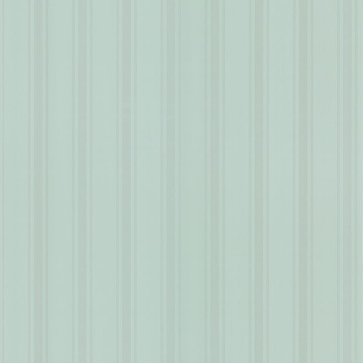 Muted olive green stripes cover this pale green wallpaper, giving walls a pleasant, sophisticated feel. This beautiful wallpaper is prepasted for easy application. Brand: Brewster Home Fashions Name: