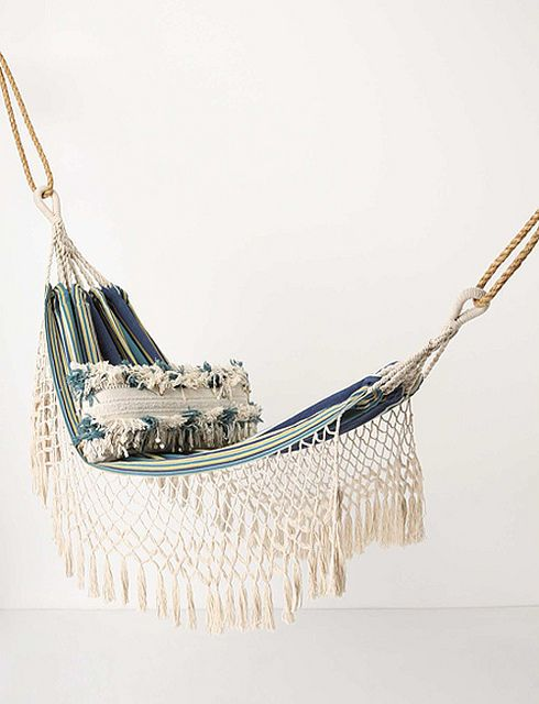 bohemian style outdoor furniture & accessories by the style files, via Flickr