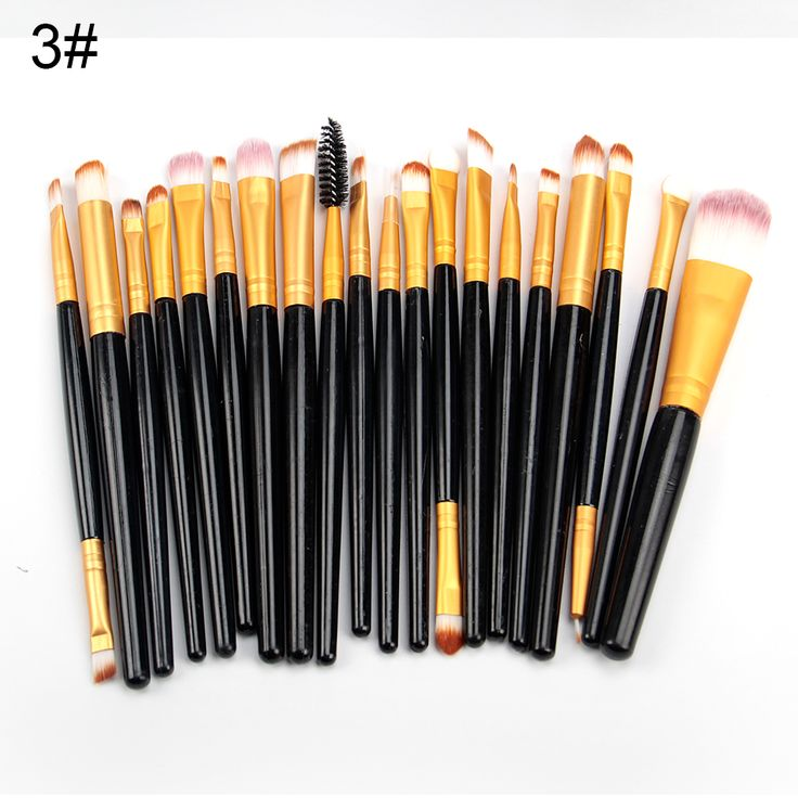 woman fashion 20pcs/set Eye Makeup Brushes Eyeshadow Blending Brush Powder Foundation Eyeshadading Eyebrow Lip Eyeliner Brush Cosmetic Tool * View the item in details on AliExpress website by clicking the VISIT button