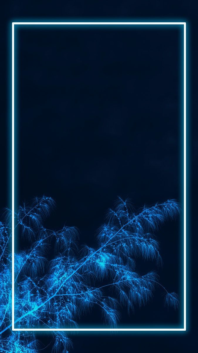 Neon Lights Frame With Tropical Leaves Mockup Design Mobile Wallpaper Premium Image By Rawpix In 2021 Wallpaper Iphone Neon Neon Light Wallpaper Light Blue Aesthetic