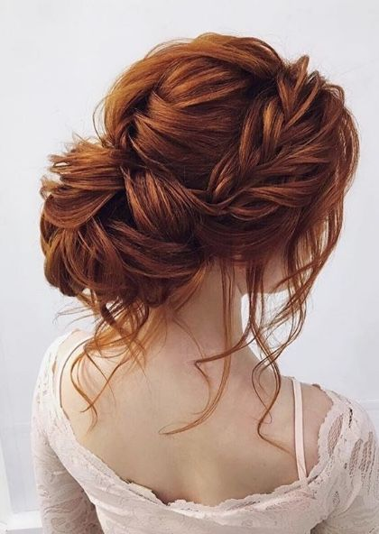 Featured Hairstyle: ELSTILE Hair & Makeup; www.elstile.com; Wedding hairstyle idea.