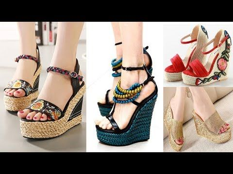 fedb5059178e latest Beautiful and stylish high heels designs new sandals collection f.