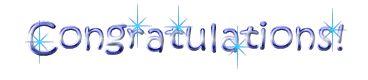 Congratulations Comments, graphics, pictures, images, scraps, pics - page 2