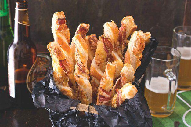 Sýrové tyčinky se slaninou